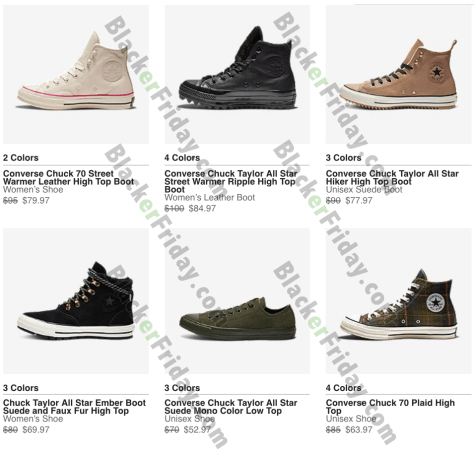 d8040d35d80 Converse Black Friday 2019 Ad