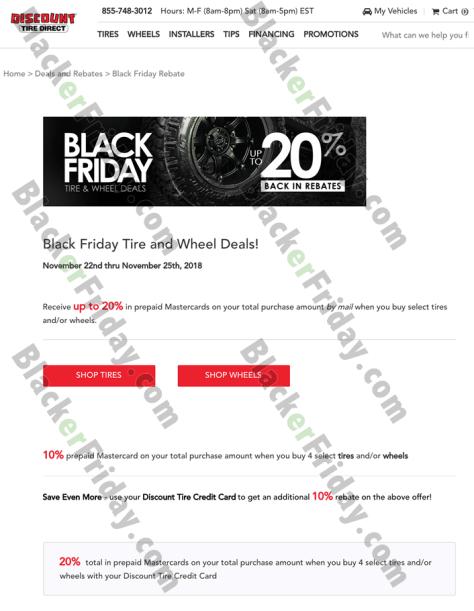 Discount Tire Black Friday 2019 Sale Deals Blackerfriday Com