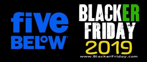 Five Below Black Friday 2019 Ad Sale Deals