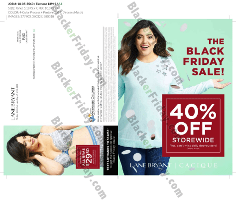 c61ad8ed099 What are you planning on getting at Lane Bryant this Black Friday weekend   Let us know in the comments section (you ll find the comments located at  the ...