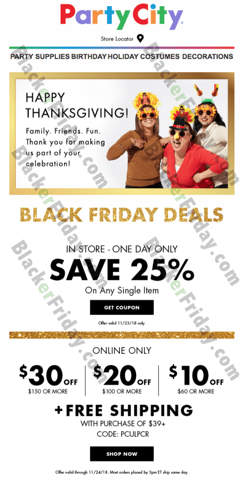 party city black friday 2019 sale deals blackerfriday com