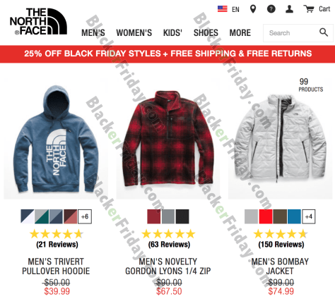 361cd3a65 The North Face Black Friday 2019 Sale & Deals - BlackerFriday.com