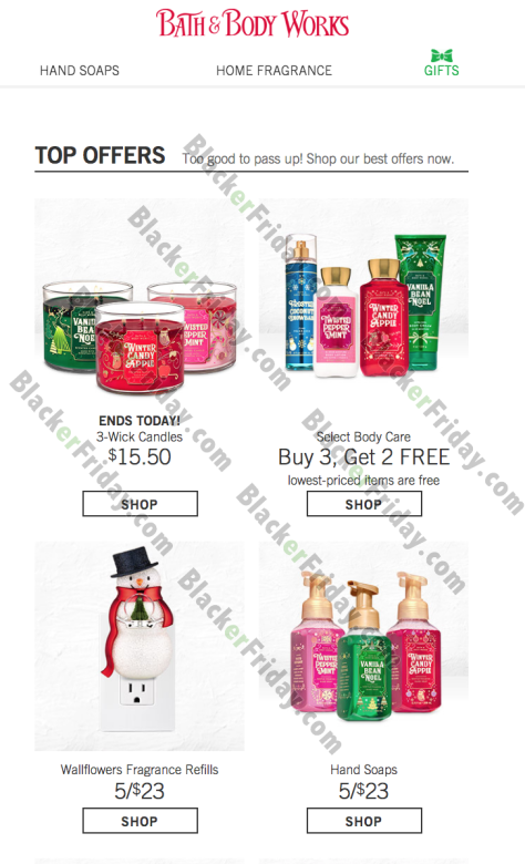 Christmas Bath And Body 2020 Bath & Body Works After Christmas Sale 2020   Blacker Friday