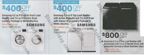 Samsung Washer Dryer Black Friday 2020 Sale Deals Blacker Friday
