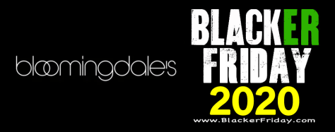 Bloomingdale's Black Friday 2020 Sale   What to Expect   Blacker