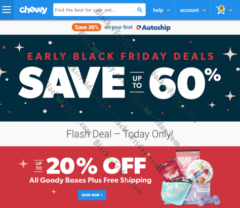 Chewy Black Friday 2020 Sale What To Expect Blacker Friday