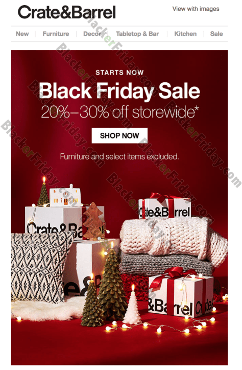 crate and barrel free shipping code december 2014
