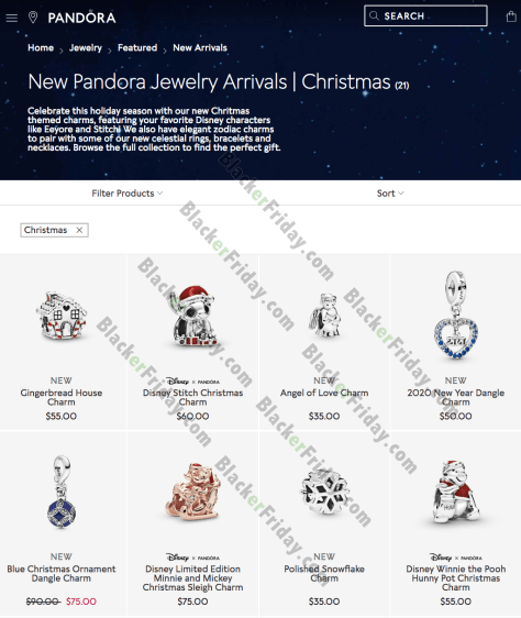 pandora black friday 2019 date