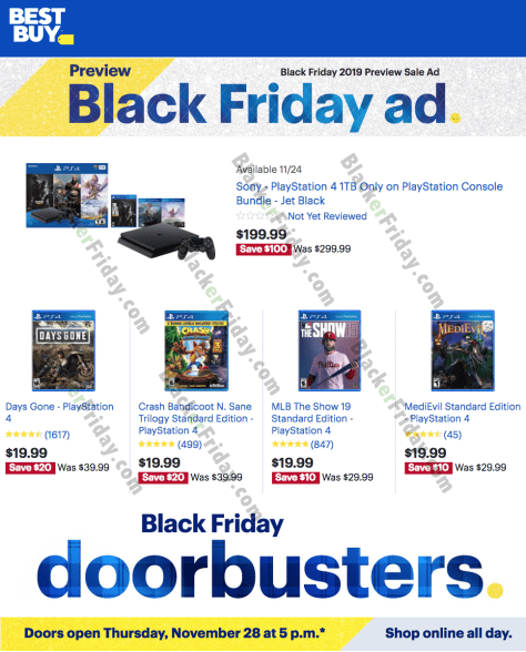 Playstation Ps4 Black Friday 2020 Sale Deals Blacker Friday