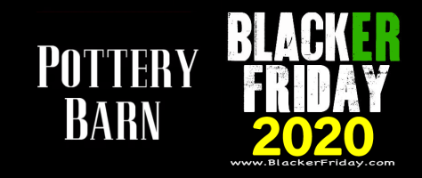 Pottery Barn Black Friday 2020 Sale What To Expect Blacker Friday