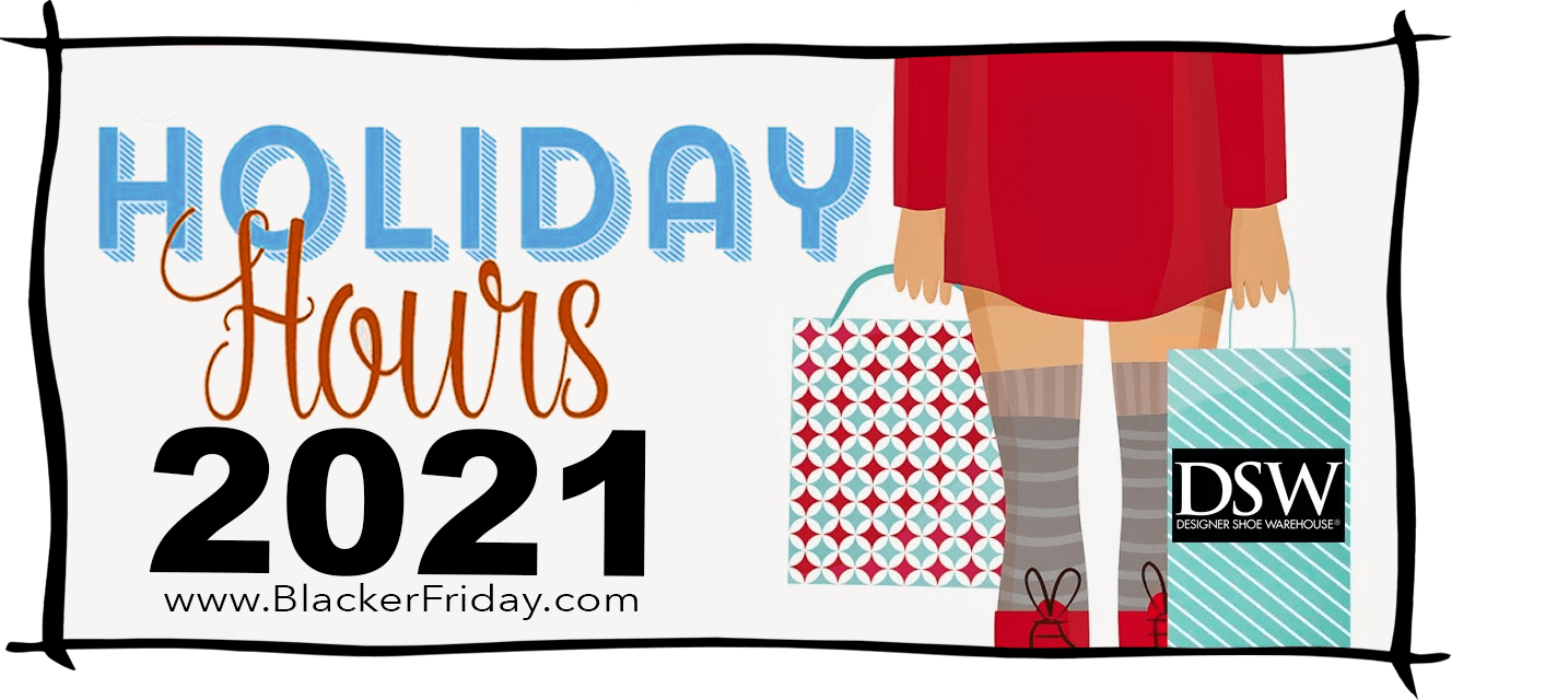 DSW Black Friday Store Hours 2021