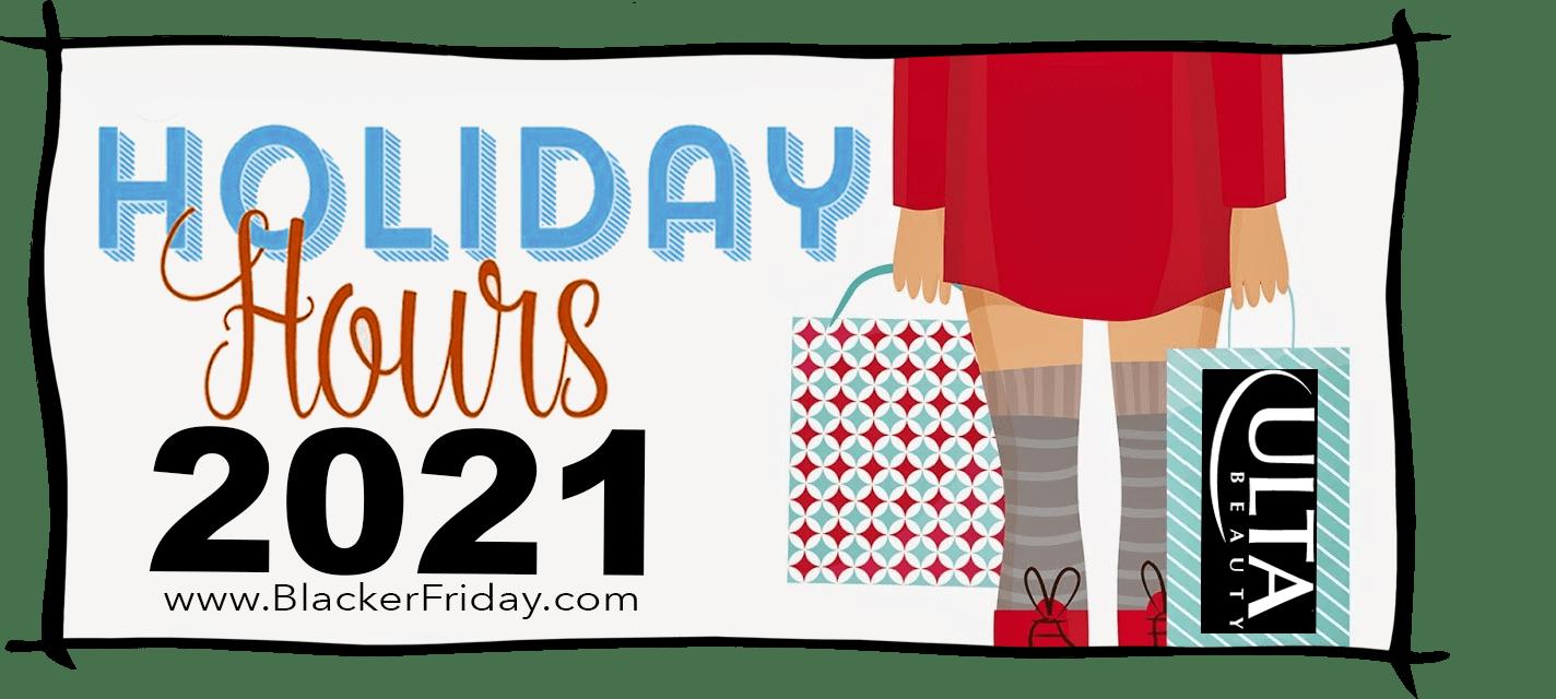ULTA Black Friday Store Hours 2021