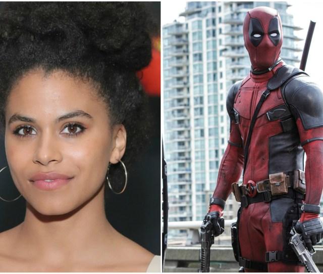 Atlantas Zazie Beetz Cast As Domino In Deadpool 2