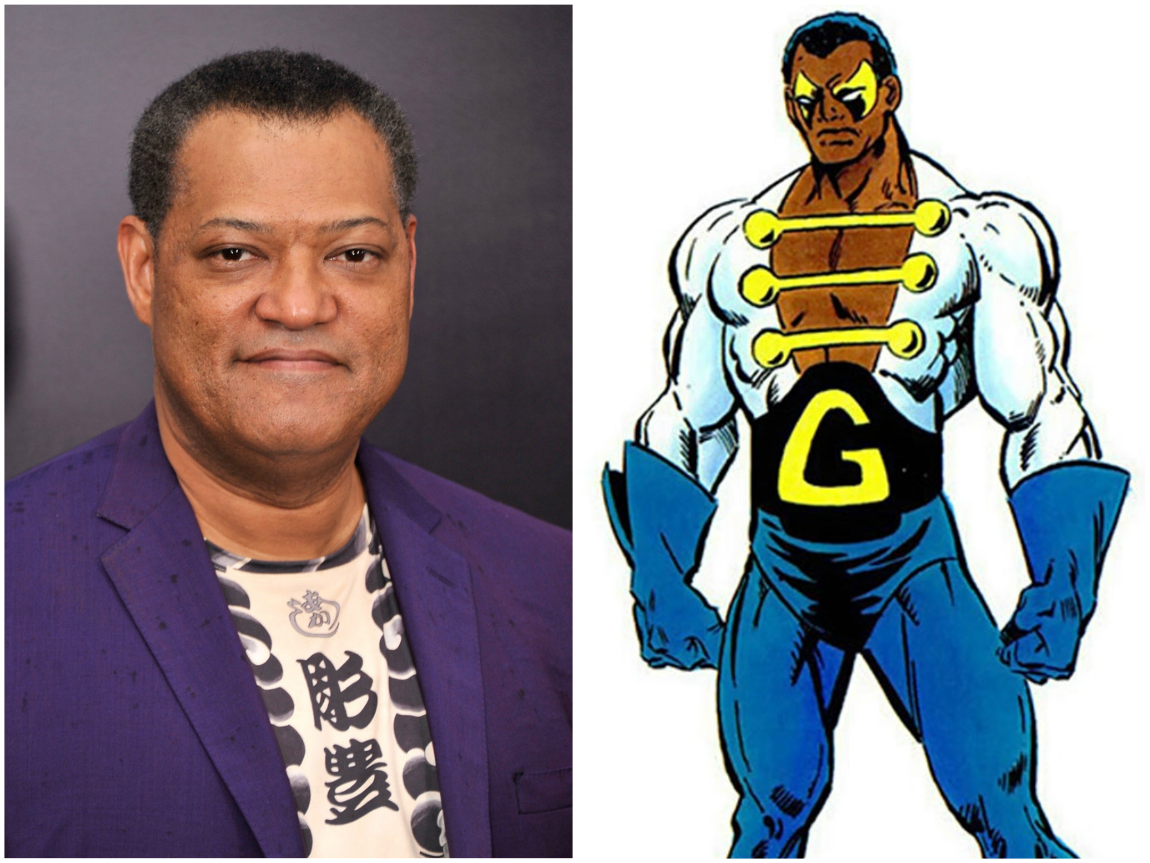 Laurence Fishburne como Golias - Ant-Man and Wasp
