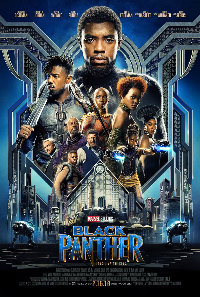 New Trailer Amp Poster To Marvel S Black Panther Blackfilm