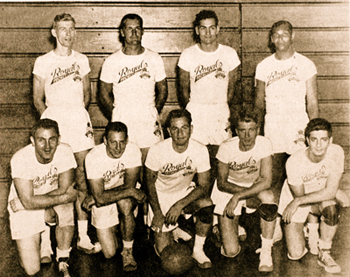Dolly King with Rochester Royals, 1946