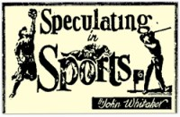 Speculating In Sports