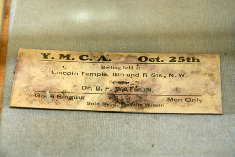 Twelfth Street Colored YMCA Building time capsule unsealing
