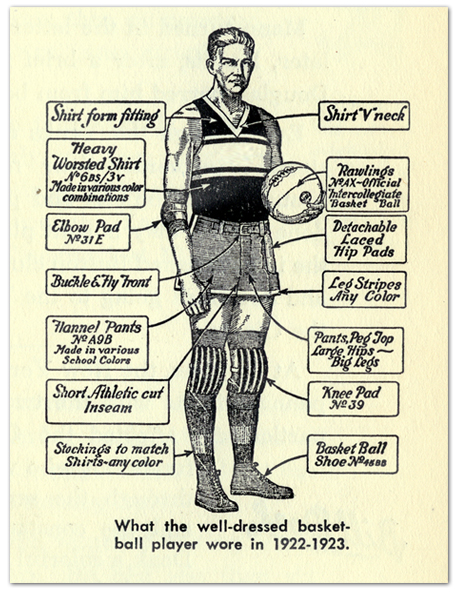 The Well-Dressed Basketball Player