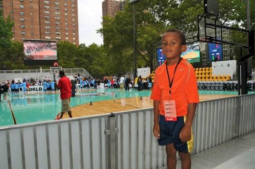 At Rucker Playground, Harlem