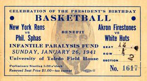 Rens FDR Game Ticket