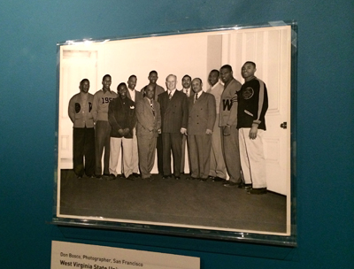 West Virginia State University basketball team, 1950