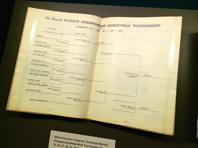 Official Souvenir Program, 7th Annual World's Championship Basketball Tournament, 1945