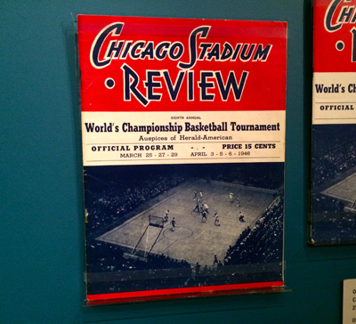 Official Souvenir Program, 8th Annual World's Championship Basketball Tournament, March 25, 27, 29 and April 3, 5, 6, 1946 | 1946