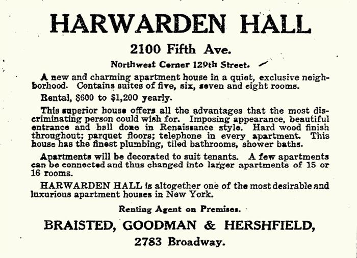 Harwarden Hall