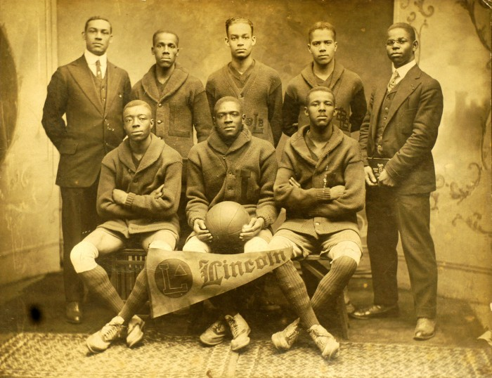 Lincoln University Basketball Team, 1916