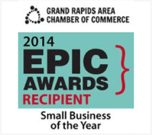 Grand Rapids Area Chamber of Commerce - Epic Award