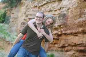 Fun Engagement Portraits