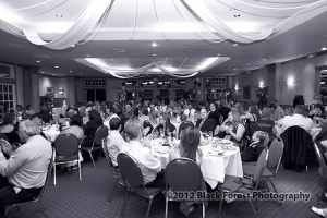 A wedding reception at the Briarhurst Manor photographed by Black Forest Photography
