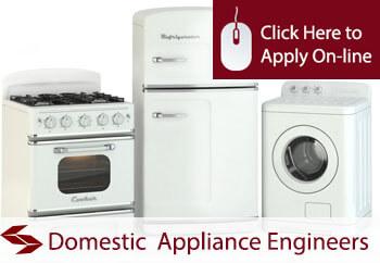 self employed domestic appliance maintenance engineers liability insurance