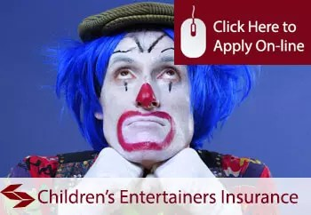 self employed childrens entertainer liability insurance