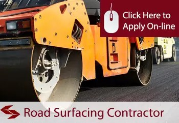 Road Surfacing Contractors Liability Insurance