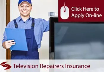 self employed television repairers liability insurance