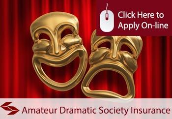 amateur dramatic societies insurance