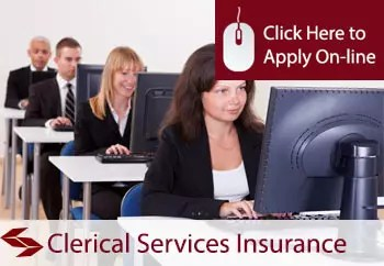 self employed clerical services liability insurance