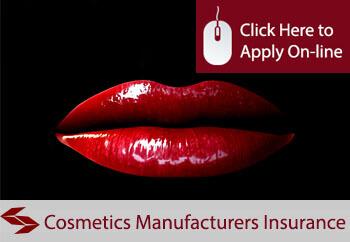 self employed cosmetics manufacturers liability insurance