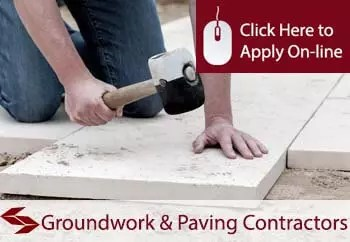 self employed groundwork and paving contractors liability insurance