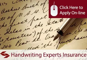Handwriting Experts Professional Indemnity Insurance