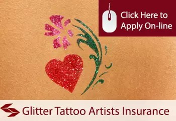 Glitter Tattoo Artists Liability Insurance