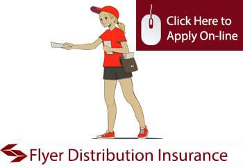 self employed flyer distributors liability insurance