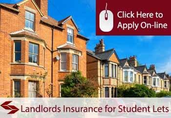 landlords insurance for student let properties