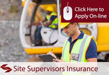 Site Supervisors Liability Insurance