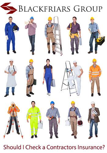 should i check a contractors insurance details?