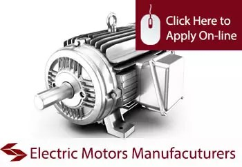 electric motor manufacturers insurance