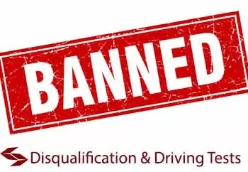 driving licence disqualification and retest