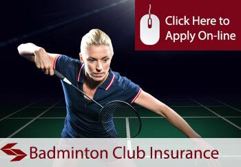 badminton club insurance